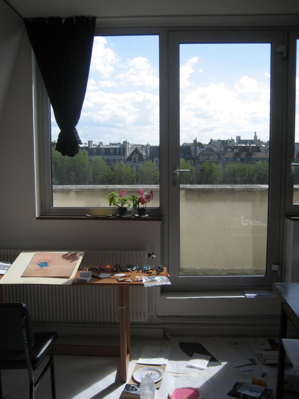 Cite des Artes International Studio, Paris, France